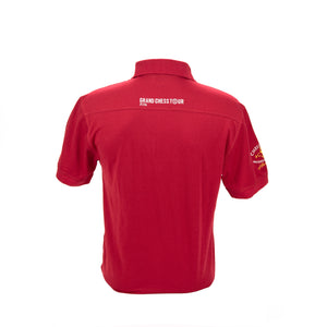 2016 Sinquefield Cup Red Short-Sleeve Polo
