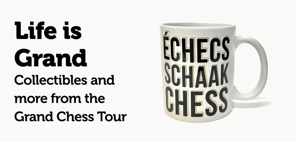 2017 Grand Chess Tour Collectibles
