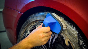 autodetailgeek tire brushes best tool in a vehicle detailing shop