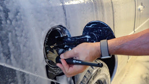 auto geek YouTube natural boar's hair detailing brush washing a car