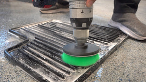 detailing brush for drill cleaning truck mat in auto care shop