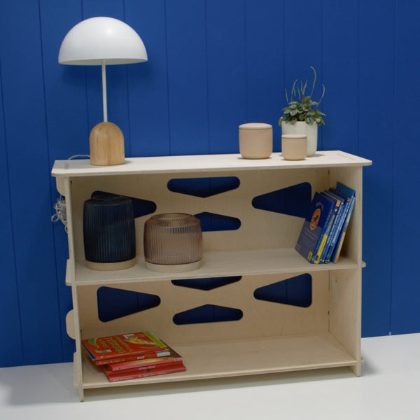 Ply bookshelf #1 made by Melb Design Co in Melbourne