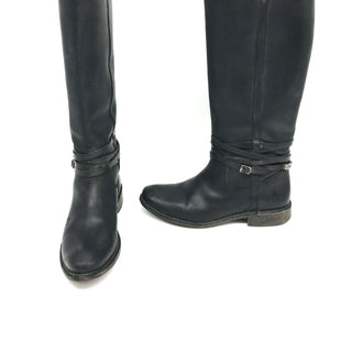 Primary Photo - BRAND: FRYE STYLE: BOOTS KNEE COLOR: BLACK SIZE: 7.5 SKU: 262-26275-71738AS IS SLIGHT SCRATCHES ON TOESSLIGHT TARNISH ON HARDWARE DESIGNER BRAND FINAL SALE