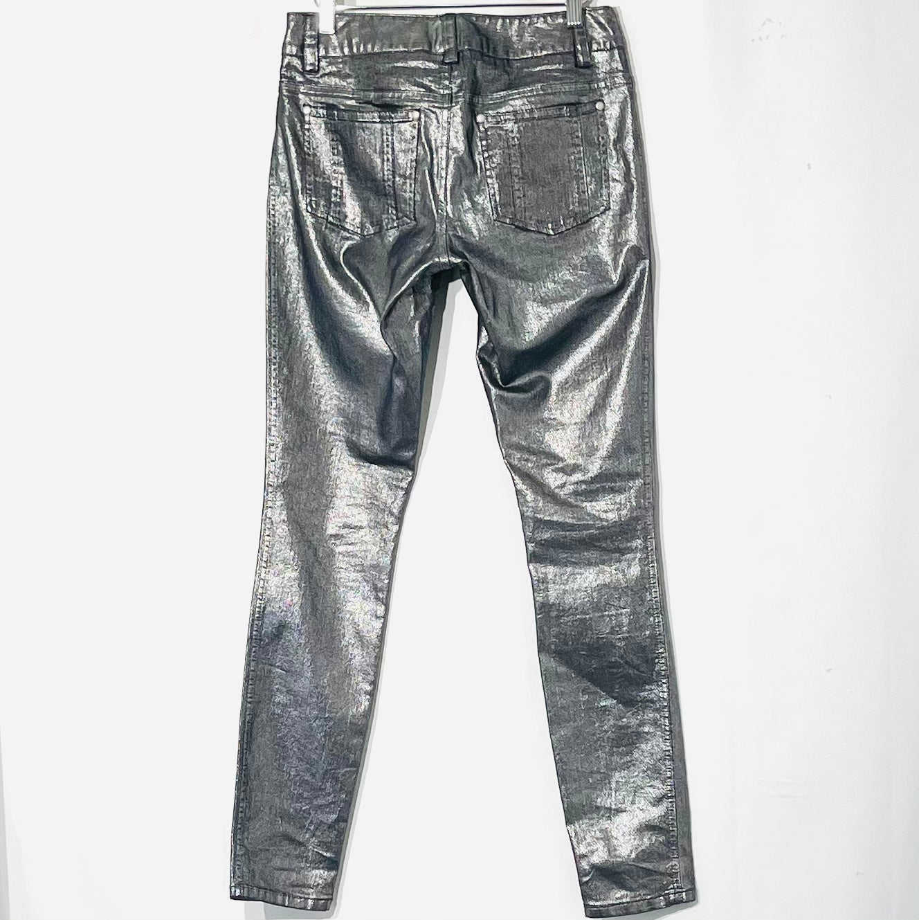 Photo #1 - BRAND: ALICE + OLIVIA <BR>STYLE: PANTS <BR>COLOR: METALLIC <BR>SIZE: 4 <BR>SKU: 262-26275-75851