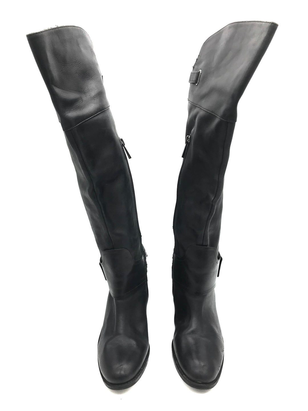 Photo #3 - BRAND: VINCE CAMUTO <BR>STYLE: BOOTS KNEE <BR>COLOR: BLACK <BR>SIZE: 6.5 <BR>SKU: 262-26275-72179<BR><BR>SOME SLIGHT SCRATCHES