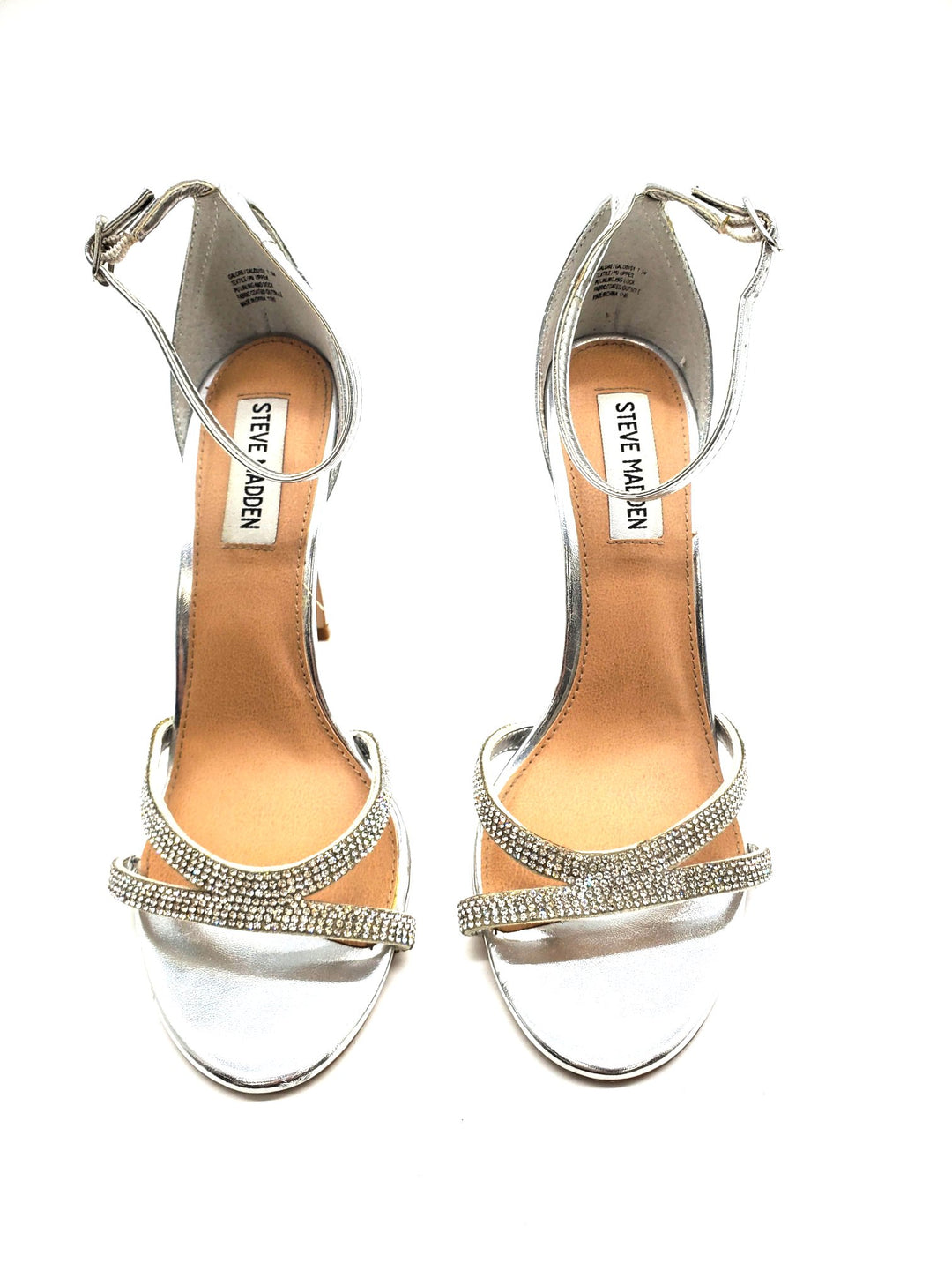 Primary Photo - BRAND: STEVE MADDEN <BR>STYLE: SANDALS LOW <BR>COLOR: SPARKLES <BR>SIZE: 7.5 <BR>SKU: 262-26275-63732<BR>AS IS