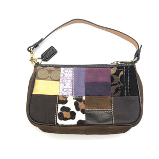 "Primary Photo - BRAND: COACH STYLE: WRISTLET COLOR: MULTI SKU: 262-26275-74102AS IS SLIGHT WEAR ON CORNERS DESIGNER BRAND FINAL SALE APPROX 9""X5""X2"""