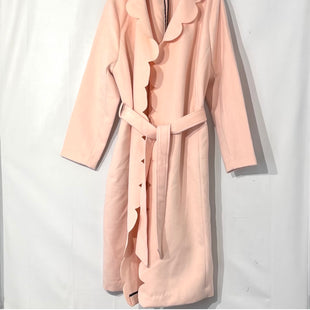 Primary Photo - BRAND: ELOQUII STYLE: COAT LONG COLOR: LIGHT PINK SIZE: 1X /18-20SKU: 262-26275-745772% SPANDEX DESIGNER FINAL
