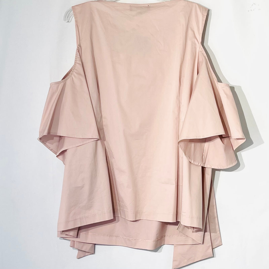 Photo #1 - BRAND: ELOQUII <BR>STYLE: BLOUSE <BR>COLOR: DUSTY PINK <BR>SIZE: 24<BR>SKU: 262-26211-143539