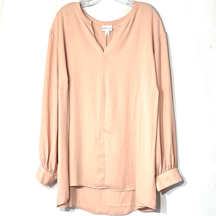 Primary Photo - BRAND: AVA & VIV STYLE: TOP LONG SLEEVE COLOR: DUSTY PINK SIZE: 4X SKU: 262-26211-143555