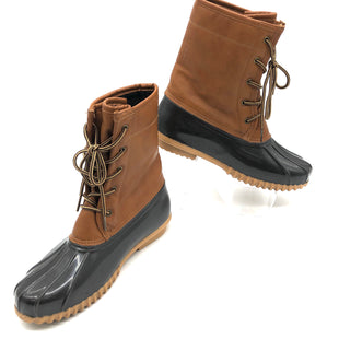 Primary Photo - BRAND:    ORIGINAL SPORTOSTYLE: BOOTS RAIN COLOR: BROWN SIZE: 8.5 OTHER INFO: ORIGINAL SPORTO - SKU: 262-26211-142280SOME SLIGHT SPOTS