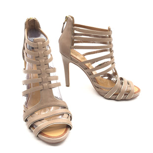 Primary Photo - BRAND: ANN TAYLOR STYLE: SANDALS LOW COLOR: BEIGE SIZE: 7 SKU: 262-26275-66352IN GOOD SHAPE AND CONDITION