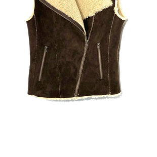 Primary Photo - BRAND: VELVET STYLE: VEST COLOR: BROWN SIZE: XS SKU: 262-26275-70581FAUX FUR AND LEATHER
