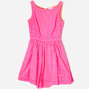 Primary Photo - BRAND: LILLY PULITZER STYLE: DRESS SHORT SLEEVELESS COLOR: HOT PINK SIZE: XS /2SKU: 262-26211-144294FRONT HEM NEEDS RE STITCHED AS IS (SEE PIC)