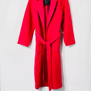 Primary Photo - BRAND: ELOQUII STYLE: COAT LONG COLOR: HOT PINK SIZE: XL/14-16SKU: 262-26275-7457525% WOOLDESIGNER FINAL
