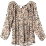 Primary Photo - BRAND: CABI <BR>STYLE: BLOUSE <BR>COLOR: FLORAL <BR>SIZE: XS <BR>SKU: 262-26275-75060
