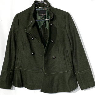 Primary Photo - BRAND: BANANA REPUBLIC STYLE: BLAZER JACKET COLOR: OLIVE SIZE: XS PETITESKU: 262-26241-4232172% WOOL