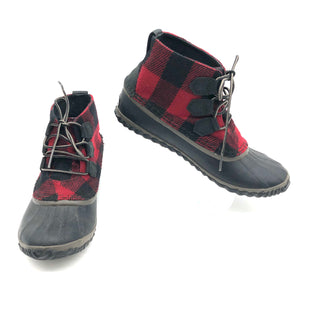 Primary Photo - BRAND: SOREL STYLE: BOOTS ANKLE COLOR: PLAID SIZE: 8.5 SKU: 262-26211-141857AS IS DESIGNER BRAND FINAL SALE