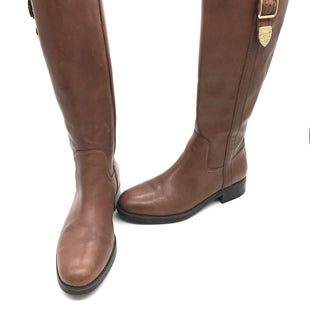 Primary Photo - BRAND: COACH STYLE: BOOTS KNEE COLOR: BROWN SIZE: 7 SKU: 262-26211-138439AS IS SMALL SCUFFS, MARKS, SLIGHT WEAR ON HARDWARE
