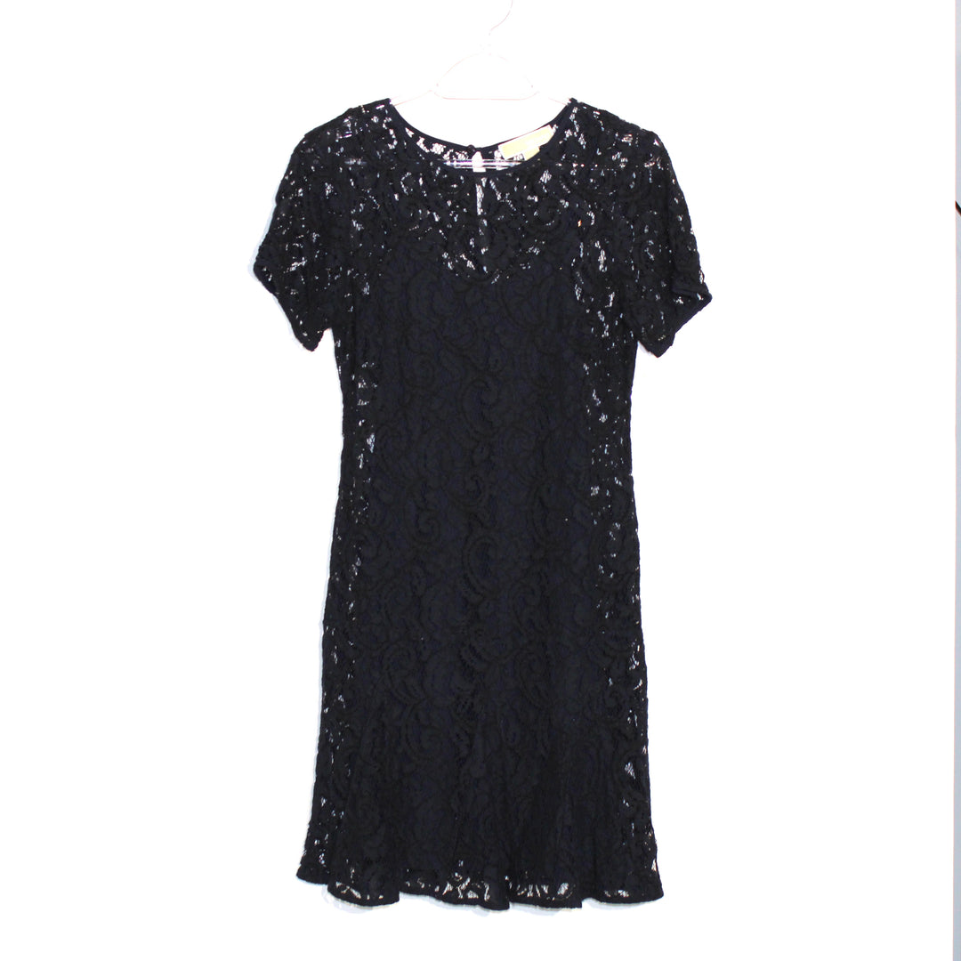 Primary Photo - BRAND: MICHAEL KORS <BR>STYLE: DRESS SHORT SHORT SLEEVE <BR>COLOR: NAVY <BR>SIZE: XS/2<BR>SKU: 262-26211-126634
