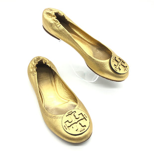 Primary Photo - BRAND: TORY BURCH STYLE: SHOES FLATS COLOR: GOLD SIZE: 9 OTHER INFO: AS IS WEAR SKU: 262-26275-74880WEAR - AS IS