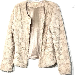 Primary Photo - BRAND: MYSTREE STYLE: SWEATER CARDIGAN LIGHTWEIGHT COLOR: BEIGE SIZE: L SKU: 262-26275-76853SOFT!