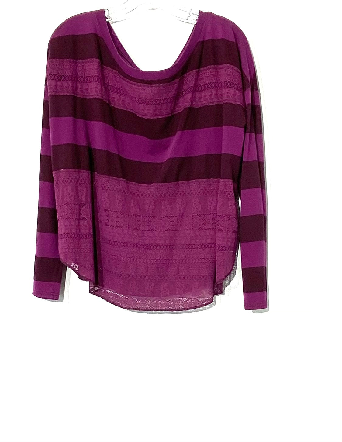 Primary Photo - BRAND: WE THE FREE <BR>STYLE: TOP LONG SLEEVE <BR>COLOR: PURPLE <BR>SIZE: M <BR>SKU: 262-26275-61106
