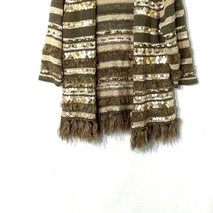 Primary Photo - BRAND: CHICOS STYLE: SWEATER CARDIGAN LIGHTWEIGHT COLOR: MULTI OLIVE SIZE: L /2SKU: 262-262101-1995