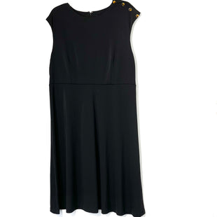 Primary Photo - BRAND: ANN TAYLOR O STYLE: DRESS SHORT SLEEVELESS COLOR: BLACK SIZE: XL SKU: 262-26211-142777