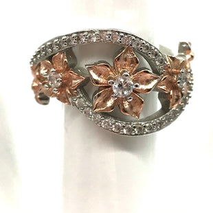 Primary Photo - BRAND:    NO BRAND SHOWNSTYLE: RING COLOR: STERLING SILVER SKU: 262-26241-44453FITS APPROX. SZ7.5