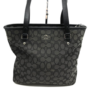 "Primary Photo - BRAND: COACH STYLE: HANDBAG DESIGNER COLOR: BLACK SIZE: SMALL OTHER INFO: AS IS CORNER SKU: 262-26241-43434APPROX. 13""L X 10.25""H X 4""D"