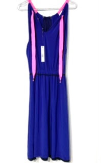 Photo #1 - BRAND: T TAHARI <BR>STYLE: DRESS SHORT SLEEVELESS <BR>COLOR: ROYAL BLUE <BR>SIZE: XL <BR>SKU: 262-26275-67197