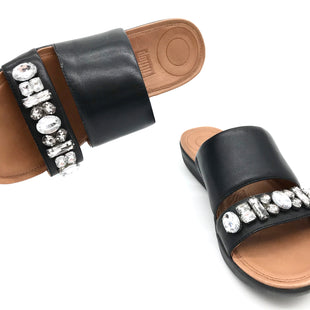 Primary Photo - BRAND: FITFLOP STYLE: SANDALS FLAT COLOR: BLACK SIZE: 6 SKU: 262-26241-42871AS IS