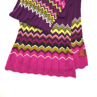 "Primary Photo - BRAND: MISSONI STYLE: SCARF COLOR: MULTI SKU: 262-26275-31916APPROX 69"" X12""AS IS DESIGNER BRAND FINAL SALE"