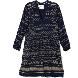 Primary Photo - BRAND: HOLDING HORSES ANTHROPOLOGIE STYLE: DRESS SHORT LONG SLEEVE COLOR: NAVY SIZE: S SKU: 262-26275-76324