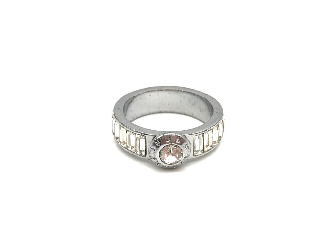 Primary Photo - BRAND: HENRI BENDEL <BR>STYLE: RING <BR>COLOR: SPARKLES <BR>SIZE: 6 <BR>SKU: 262-26275-68740<BR>GENTLE WEAR AND SCRATCHES - AS IS