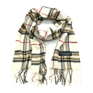 Primary Photo - BRAND:  NO BRANDSTYLE: SCARF CASHMERE 100%COLOR: PLAID SKU: 262-26275-76260AS IS
