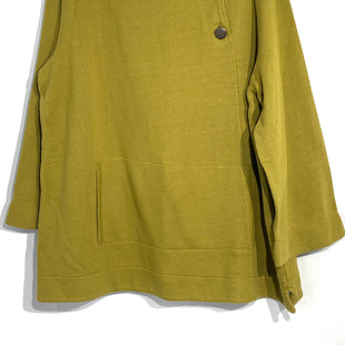 Primary Photo - BRAND: SOFT SURROUNDINGS STYLE: TOP LONG SLEEVE COLOR: OLIVE SIZE: 2X SKU: 262-26275-6587195% COTTONPIT TO HEM 18""