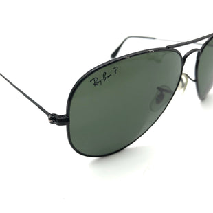 Primary Photo - BRAND: RAY BAN STYLE: SUNGLASSES COLOR: BLACK OTHER INFO: AS IS WEAR SKU: 262-26275-75114POLARIZED BUT PRICE DOES REFLECT SOME VISIBLE WEAR.
