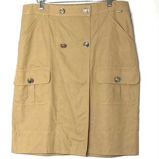 Primary Photo - BRAND: ST JOHNSTYLE: SKIRT COLOR: KHAKI SIZE: M /10SKU: 262-26241-45259DESIGNER FINAL