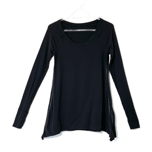 Primary Photo - BRAND: LULULEMON STYLE: ATHLETIC TOP COLOR: BLACK SIZE: S OTHER INFO: AS IS SLIGHT SNAG/LOOSE THREADSKU: 262-26275-73934