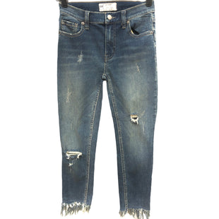 Primary Photo - BRAND: FREE PEOPLE STYLE: JEANS COLOR: DENIM SIZE: W 24 (APPROX. SZ.2)SKU: 262-262101-3237SLIGHT SPOT BACK POCKET AS SHOWN