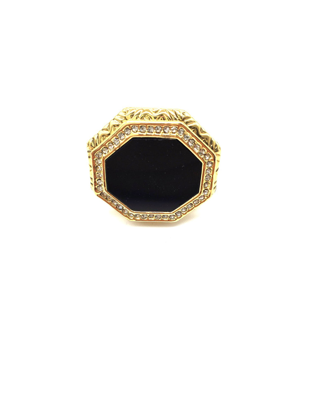 Primary Photo - BRAND:    HOUSE OF HARLOW <BR>STYLE: RING <BR>COLOR: BLACK <BR>SKU: 262-26241-40533<BR>AS IS