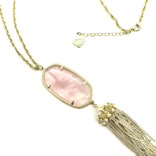 Primary Photo - BRAND: KENDRA SCOTT JEWLERY STYLE: NECKLACE COLOR: LIGHT PINK SKU: 262-26275-70996AS IS