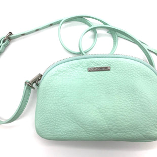 "Primary Photo - BRAND: REBECCA MINKOFF STYLE: HANDBAG DESIGNER COLOR: MINT SIZE: SMALL SKU: 262-26275-67116APPROX. 8"" X 5"""