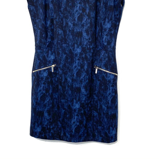 Primary Photo - BRAND: MICHAEL KORS STYLE: DRESS SHORT CAP SLEEVESCOLOR: BLUE BLACKSIZE: XL SKU: 262-26275-66212