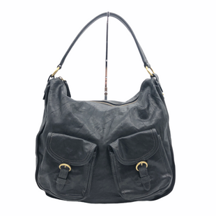 "Primary Photo - BRAND: FRYE STYLE: HANDBAG LEATHER COLOR: BLACKSIZE: 12""H X 15""L X 4""DSKU: 262-26211-145758GENTLE WEAR - AS IS"