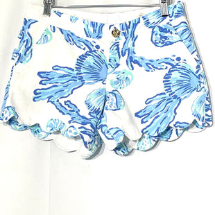 Primary Photo - BRAND: LILLY PULITZER STYLE: SHORTS COLOR: BLUE WHITE SIZE: 2 SKU: 262-26275-75626THE BUTTERCUP SHORTDESIGNER FINAL