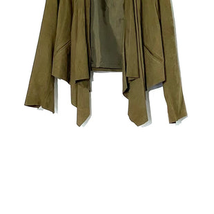 Primary Photo - BRAND: INC STYLE: JACKET LEATHER COLOR: OLIVE SIZE: M SKU: 262-26275-72159100% LEATHER DESIGNER FINAL