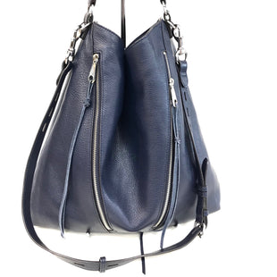 Primary Photo - BRAND: REBECCA MINKOFF STYLE: HANDBAG DESIGNER COLOR: NAVY SIZE: LARGE SKU: 262-26275-62253DESIGNER BRAND - FINAL SALE